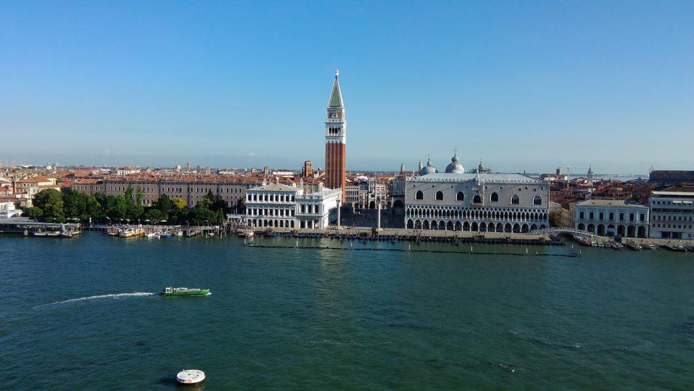 ヴェネツィア、サンマルコ広場。イタリア世界遺産