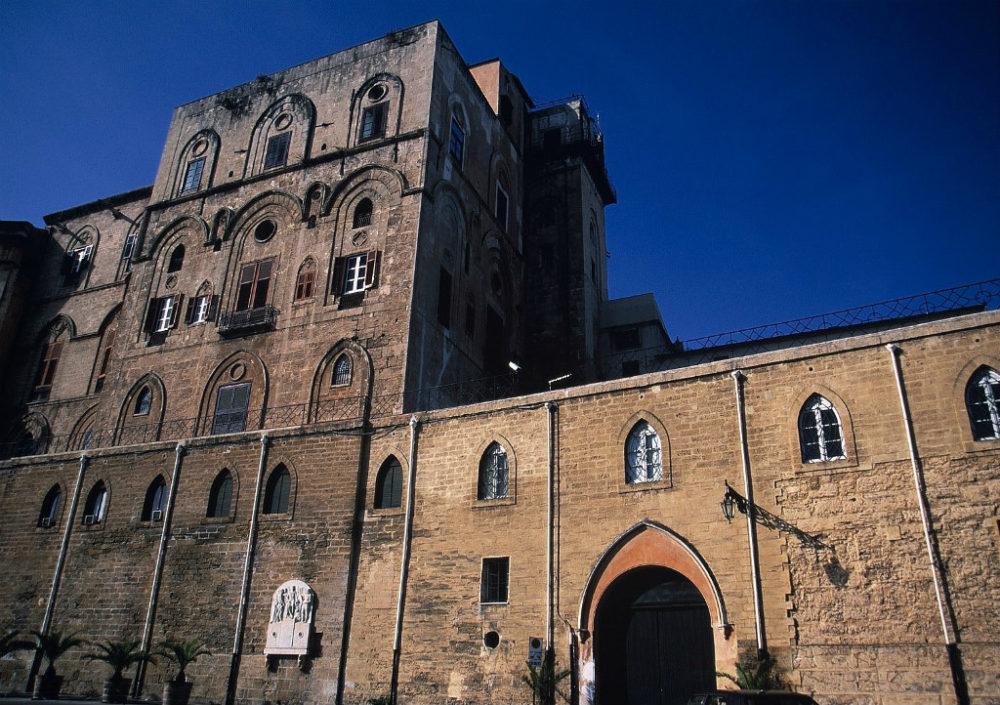 シチリア、パレルモ、ノルマン王宮イタリア世界遺産