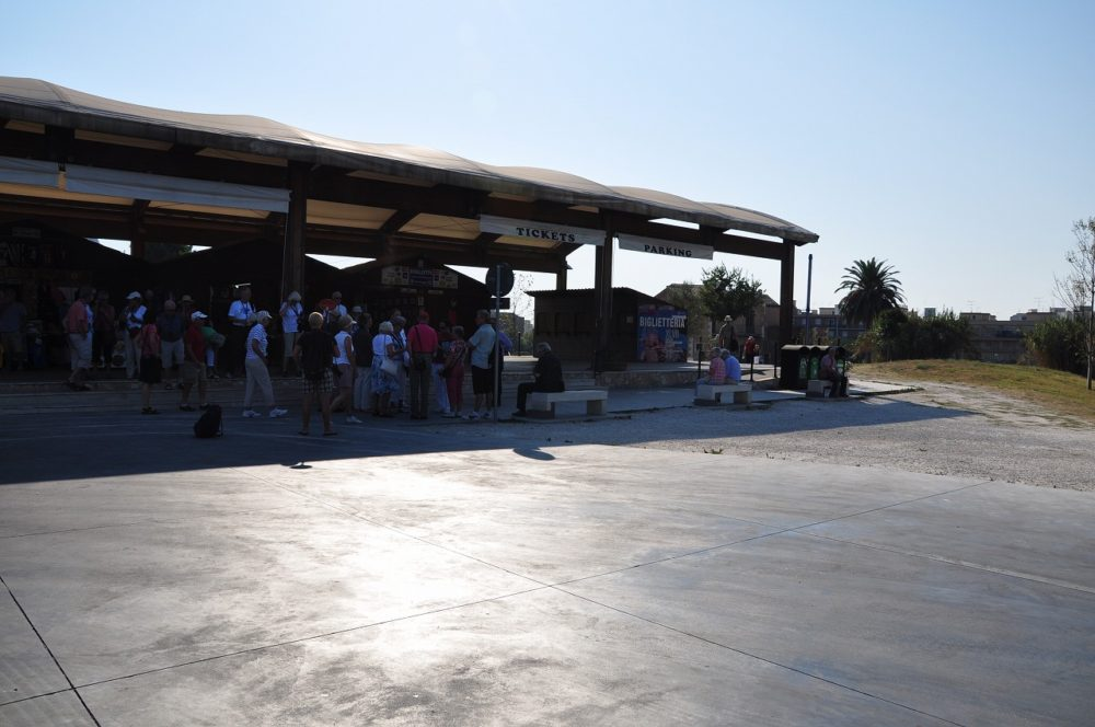 Parco Archeologico della Neapolis ネアポリス考古学公園: 毎日開園:09:00~18:00  チケット売り場は17:00まで