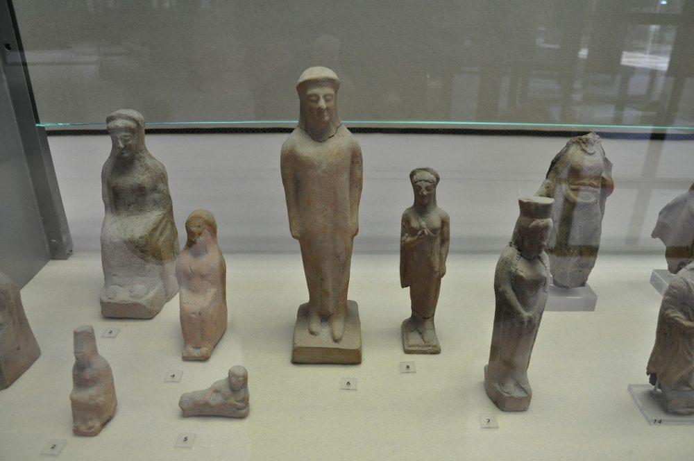 シチリア島シラクーサパオロオルシ考古学博物館。