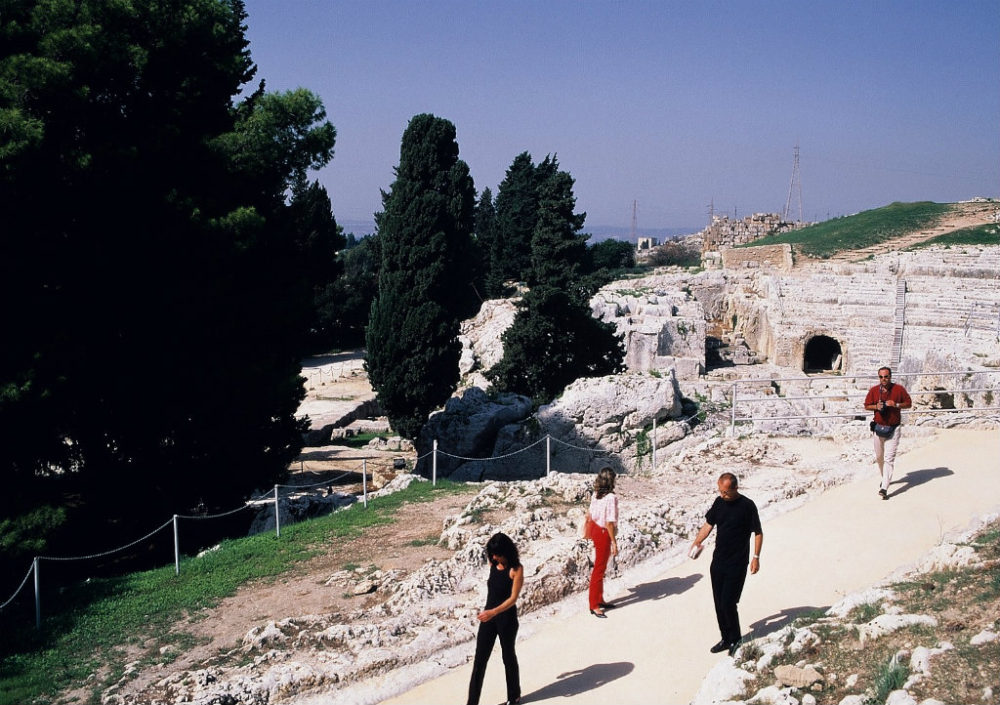 シチリア、シラクーサ、ネアポリ考古学地区。