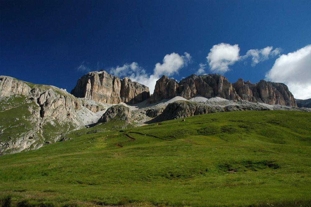 ドロミテトレッキング、ドロミテの歩き方、ヴィア・デル・パン。セッラ山群。
