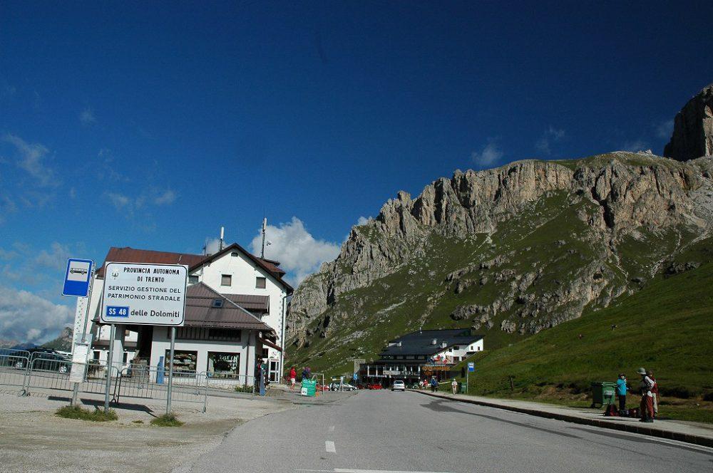 ドロミテトレッキング、ドロミテの歩き方、ヴィア・デル・パン。パッソ・ポルドイ
