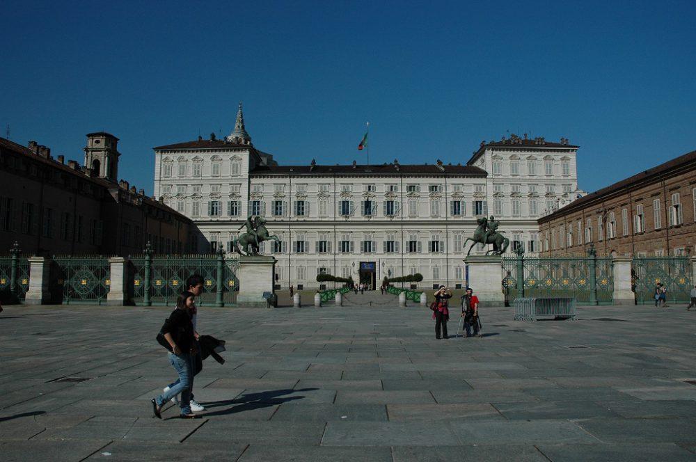 世界遺産に登録されたPalazzo Reale=サヴォイア王家の王宮