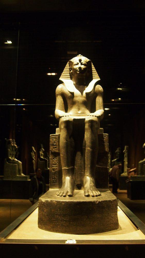 トリノエジプト博物館。カイロ、大英博物館と並ぶ三大エジプト博物館。