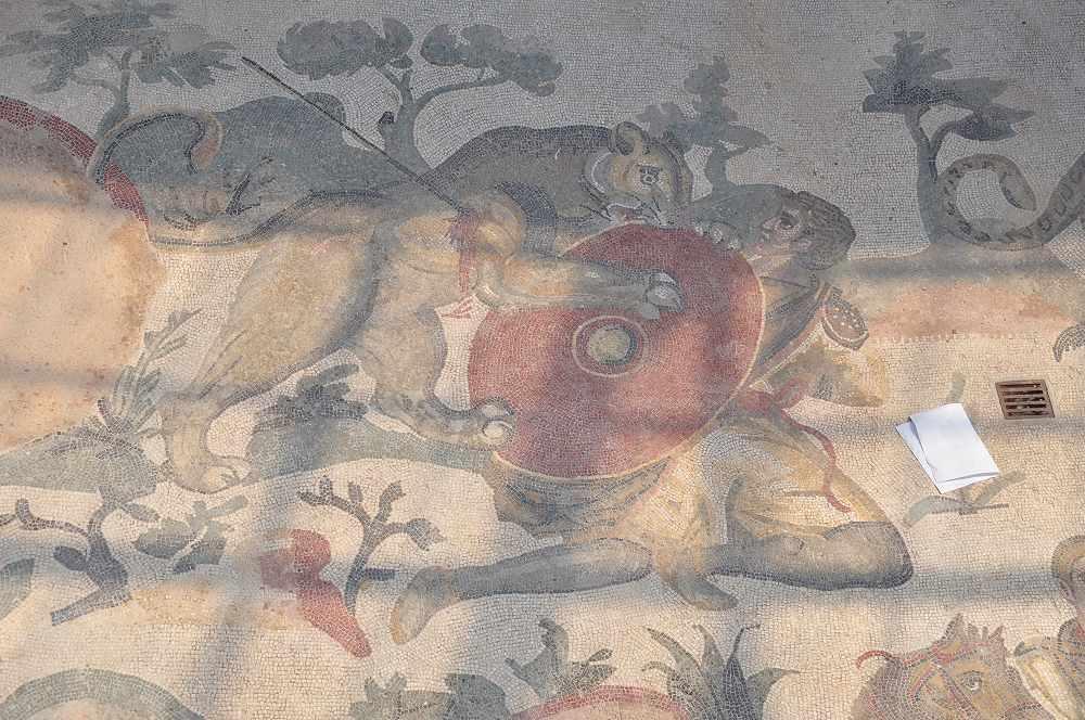 ピアッツァアルメリーナ シチリア世界遺産